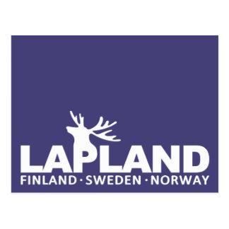 LAPLAND custom postcard