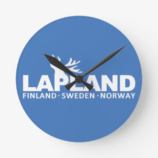 LAPLAND custom wall clock