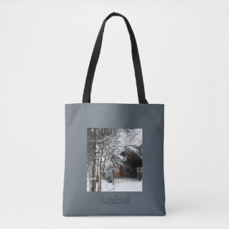 Lapland-Finland, All-Over-Print Tote Bag