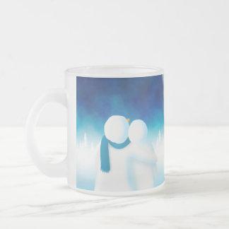 Lapland Frosted Glass Mug