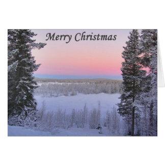 Lappish Christmas Card