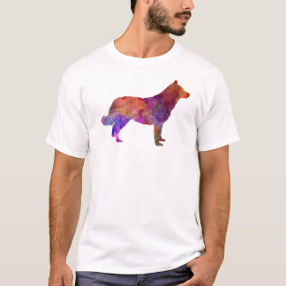 Lapponian Herder in watercolor T-Shirt