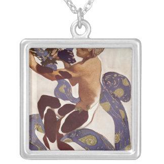 L'Apres Midi d'un Faune' Silver Plated Necklace