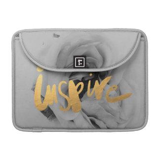 "Laptop bag Macbook pro 13"" Grey gold Sleeve For MacBooks"