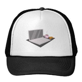 Laptop Base Trucker Hats