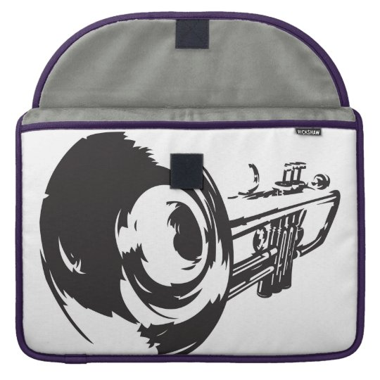 Laptop Case with Trumpet Design Sleeve For MacBooks