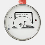 Laptop Cat Bed (Blue Point Siamese) Ornament