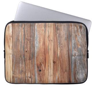 Laptop covering wood retro laptop sleeve