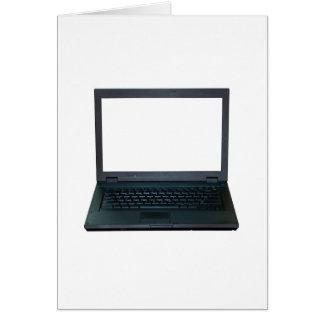 Laptop Greeting Card