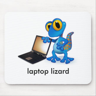 laptop lizard mouse mat