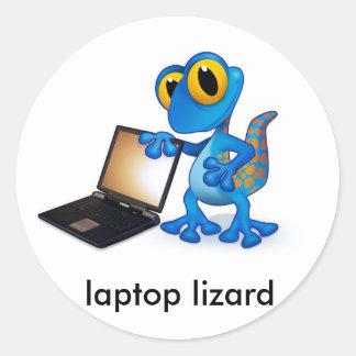 laptop lizard sticker
