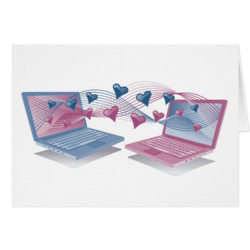 Laptop Love Cards