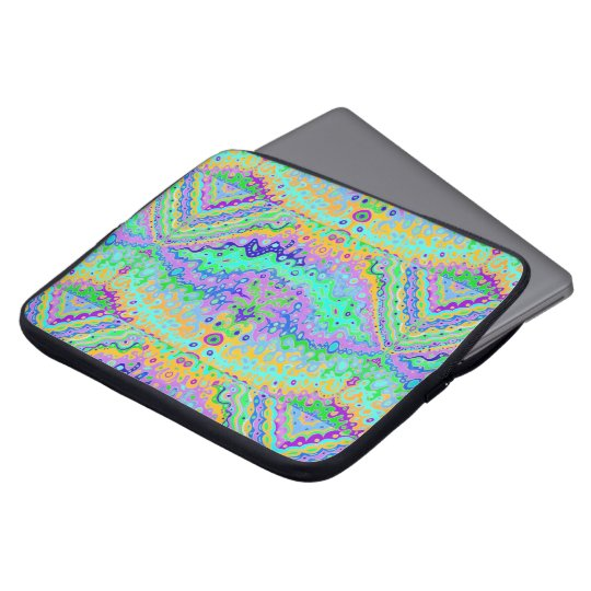 "Laptop Sleeve 15"" - Bubble Water Sunlit Seaweed"