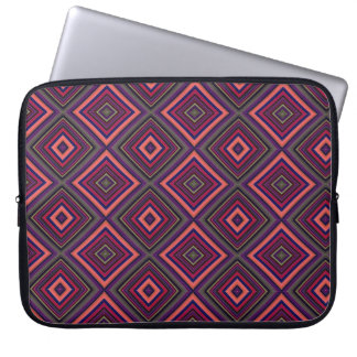 "Laptop Sleeve - 15"" - Decorative Diamond Patten"