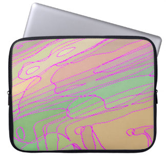 Laptop Sleeve - 15 inch - Coloured Contours