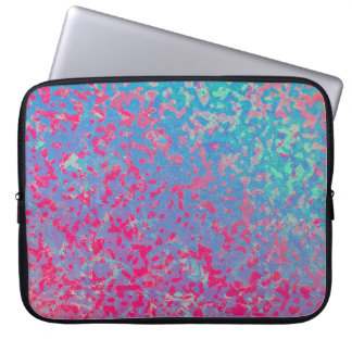 LapTop Sleeve Colorful Corroded Background