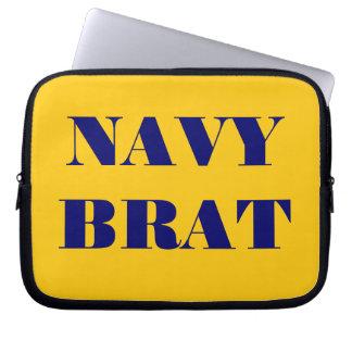 Laptop Sleeve Navy Brat