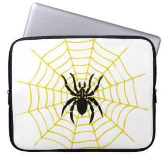 Laptop Sleeve spider cobweb