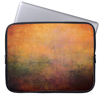 Laptop Sleeve Vintage Abstract Grunge Neoprene