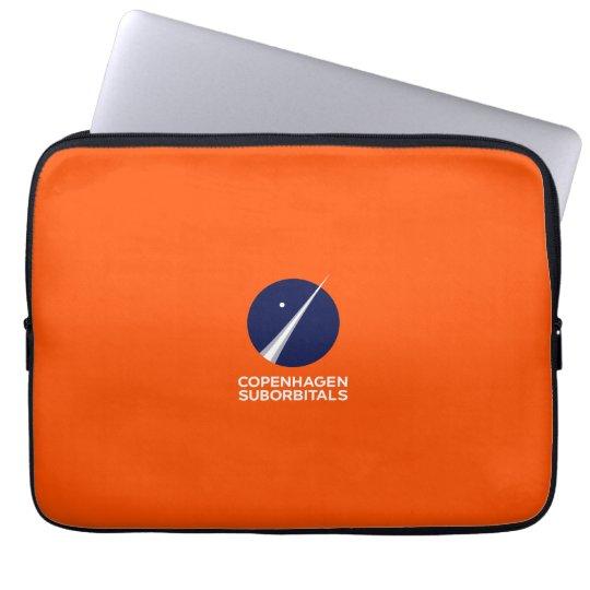 Laptop Sleeve with Copenhagen Suborbitals Logo
