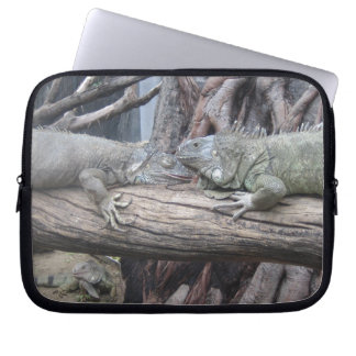 Laptop Sleeve with Iguanas Picture