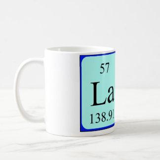 Lara periodic table name mug