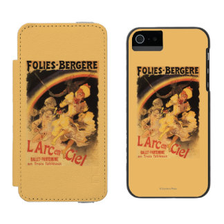 L'Arc-en-Ciel Ballet at Folies-Bergere Incipio Watson™ iPhone 5 Wallet Case