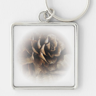 Larch Cone Key Ring