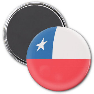 Large 3 inch magnet - Chile Chilean flag