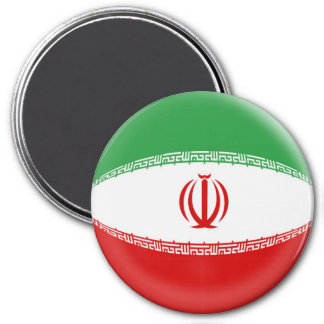 Large 3 inch magnet - Iran flag