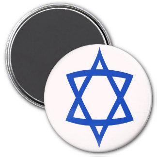 Large 3 inch magnet - Star of David flag