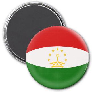 Large 3 inch magnet - Tajikistan flag