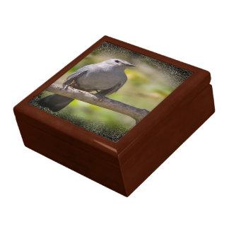 "large 7.125"" square w/6"" tile gift box golden oak"