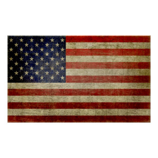 Large American Flag Poster (can be resized)