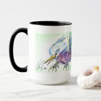 Large Angry Bird Coffee Mug 15 Ounces