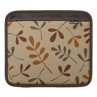 Large Assorted Fall Leaves Design iPad Sleeve