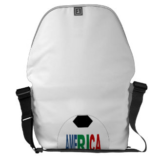 Large bag AMERICA Messenger Bag