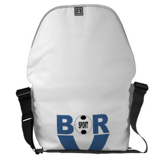 Large Bag B R Commuter Bag