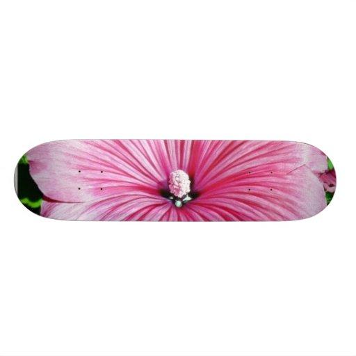 Large Beautiful Flower Custom Skate Board