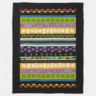 Large Beautiful Tambora Tribal Pattern Blanket