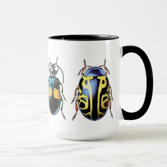 Large Beetle Mug