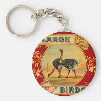 Large Birds Key Ring