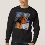 Large Black Sweatshirt of Penny and Birch trees
