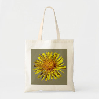 large bloom tote bag