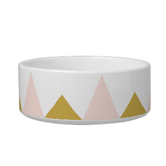 Large bowl for dog/Abstract cat
