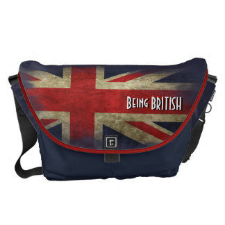 Large British Union Jack Flag. Being BRITISH Commuter Bags