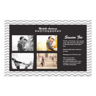 Large Brochure for Photography Business 14 Cm X 21.5 Cm Flyer