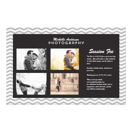 Large Brochure for Photography Business Flyer Design