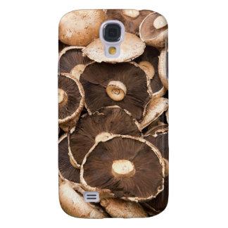 Large, Brown, Fresh, Edible Mushrooms Galaxy S4 Case