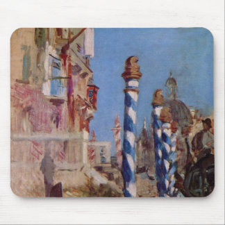 Large Canal in Venice - Edouard Manet Mouse Pad